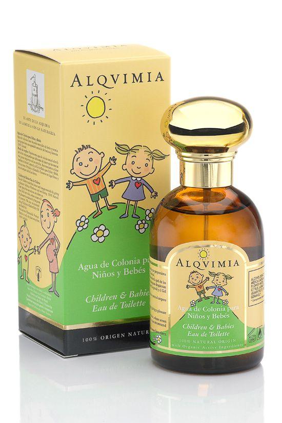 alqvimia children babies eau de toilette 100ml