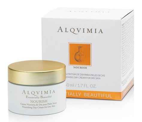 alqvimia dag creme nourish voor de droge huid 50ml