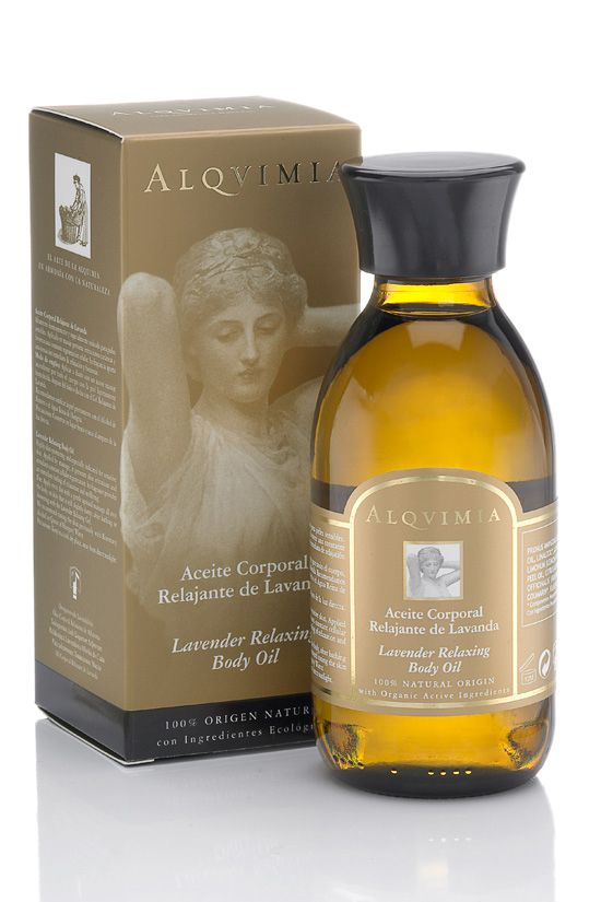 alqvimia lavender relaxing body oil 150ml