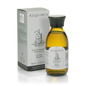 alqvimia tea tree body oil 150ml