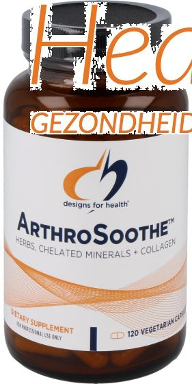 design for health arthro soothe 120vcps