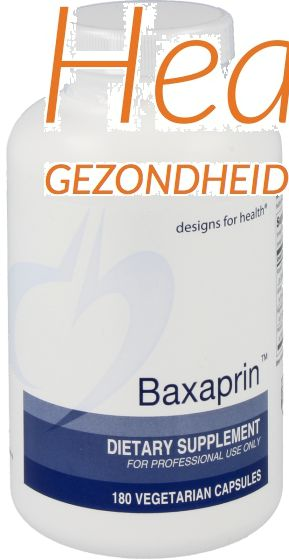 design for health baxaprin 180 vcps