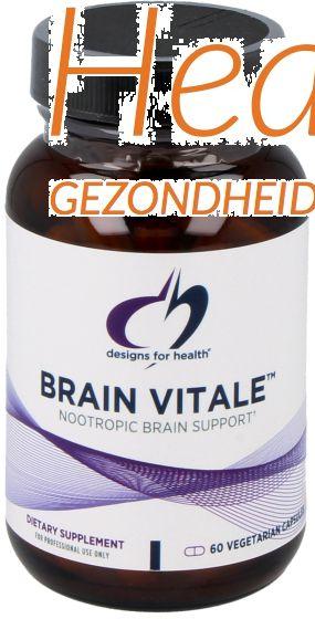 design for health brain vitale 60vcps