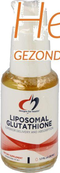 design for health liposomal glutathione 50ml