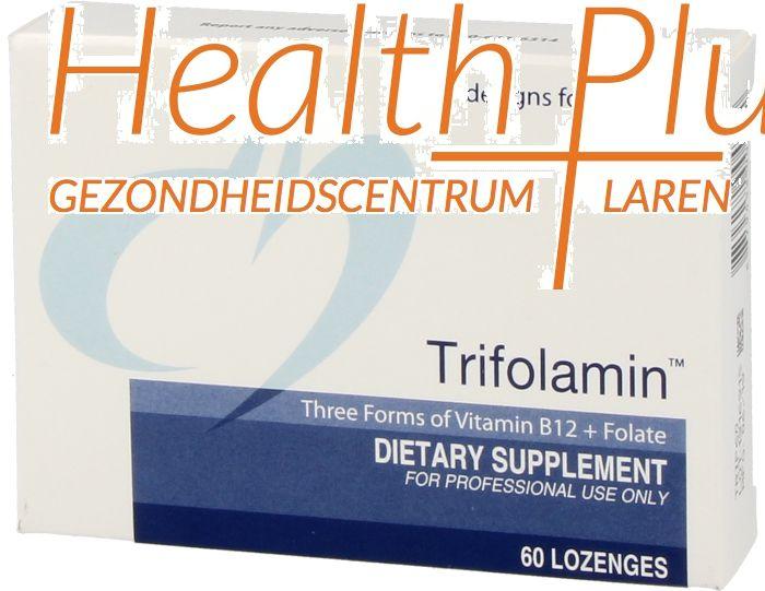 design for health trifolamin 60 lozenges