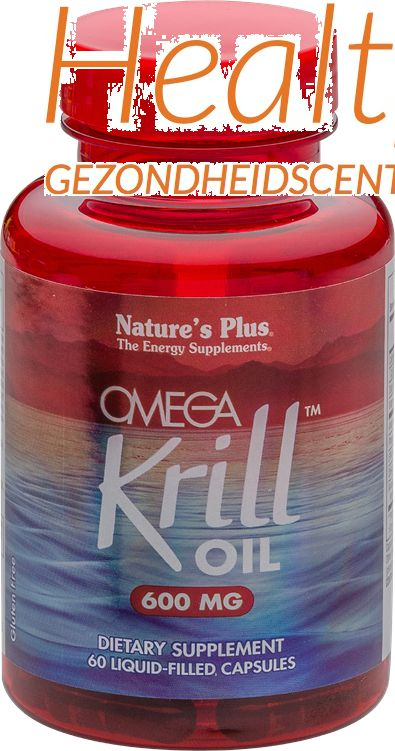 natures plus omega krill oil 600mg 60cps