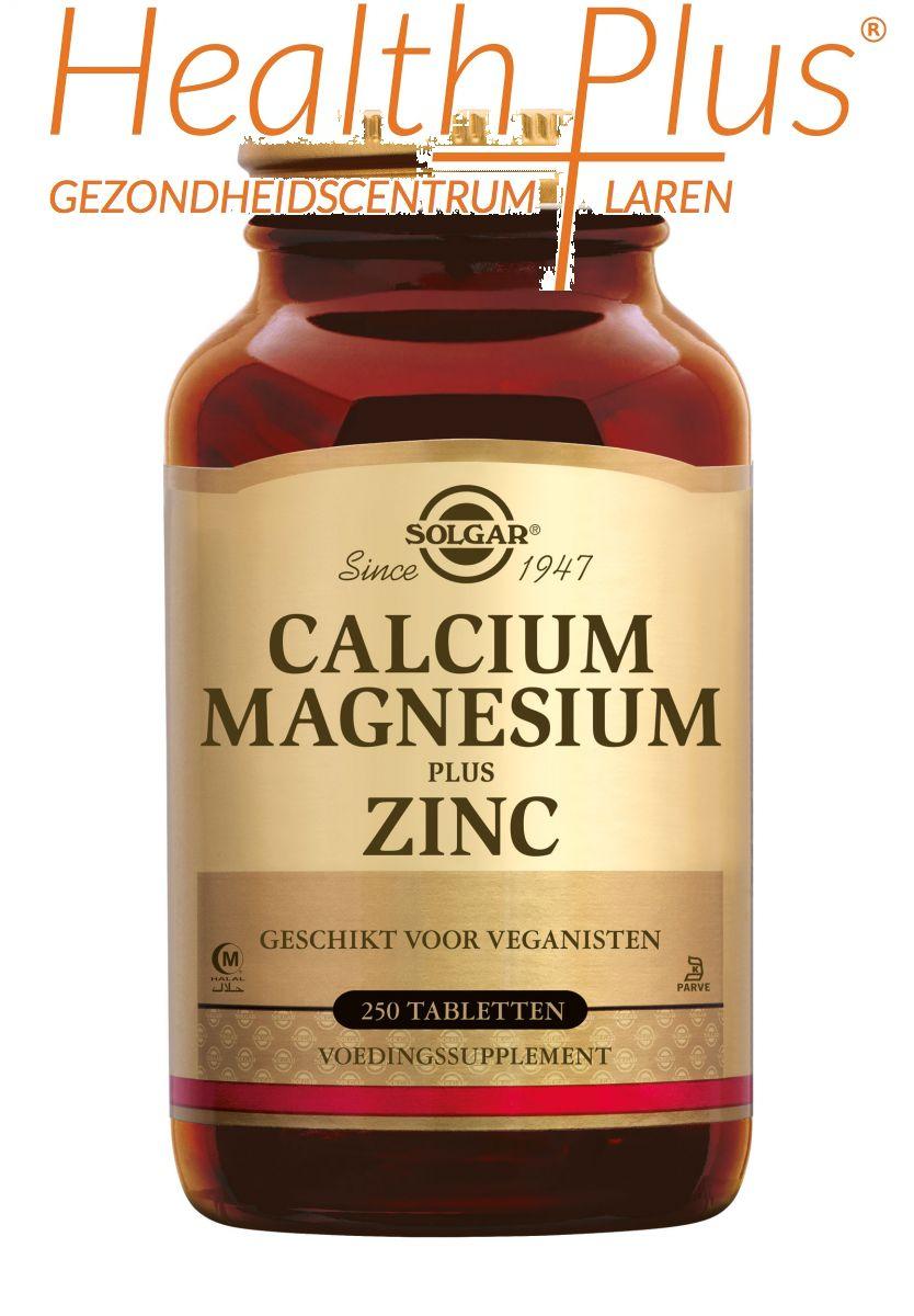 solgar calcium magnesium zink 250 tabl