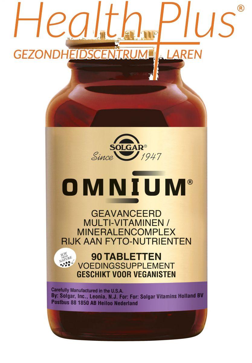 solgar omnium 90 tabletten