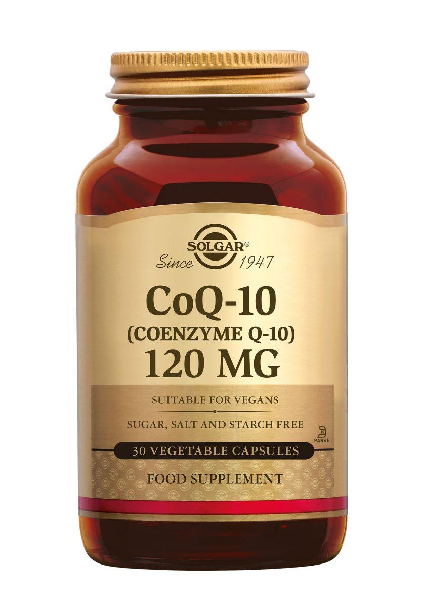 solgar q10 120 mg 30 vcps