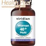 Viridian Woman 40+ Multi 60 vcps