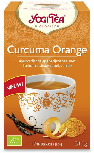 yogi tea curcuma orange biologisch 17 zakjes