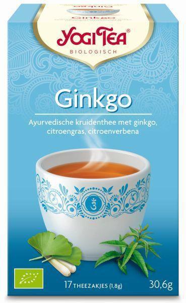 yogi tea ginkgo biologisch 17 zakjes