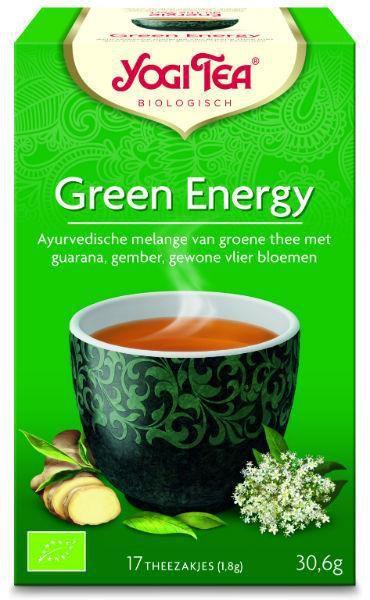 yogi tea green energy biologisch 17 zakjes