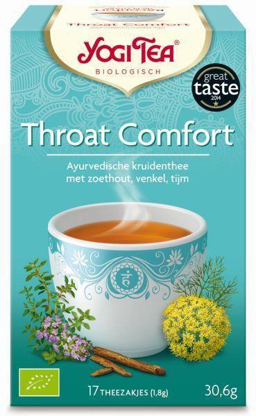 yogi tea throat comfort biologisch 17 zakjes