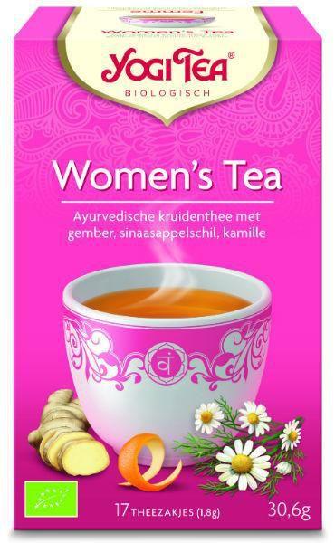 yogi tea womens tea biologisch 17 zakjes